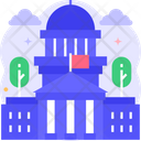 Government Building Court Court Building Icon