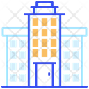 Government Court Residential Building Icon