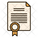Government Document File Notes Icon