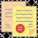 Government Document Icon