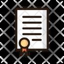 Government paper Icon