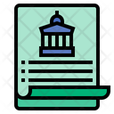 Government Policies Government Law Icon