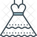 Dress Bride Lace Icon