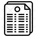 Gpa Document Grade Icon
