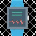 Gps Watch Heart Icon