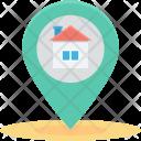 Gps Home Location Icon
