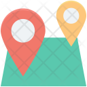 Gps Location Pins Icon