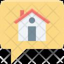 Gps Home House Icon