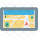 Gps Navigator Map Icon