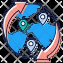 Gps Gps Navigation Global Navigation Icon