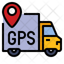 Gps Tracking Parcel Icon