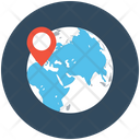 Global Positioning Direction Finder Gps Icon
