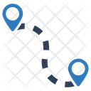 Gps Tracking Pins Icon