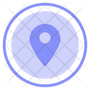 Pin Map Gps Icon