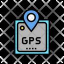 Gps Device Color Icon