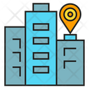 Gps Location Marker City Icon