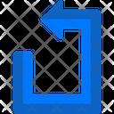 Gps Navigation Arrows Symbols Icon