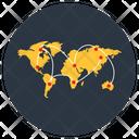Gps Navigation Map Pin Icon