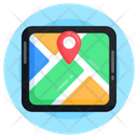 Online Location Map Location Gps Icon