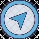 Gps Arrow Navigation Icon