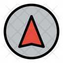 Gps Navigation Arrow Icon