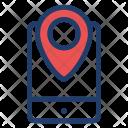 Gps Mobile Phone Icon