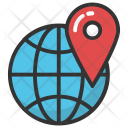 Global Location Navigation Icon