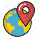 Global Location Pointer Icon