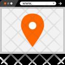 Gps Pin Navigation Icon