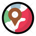 Gps Direction Finder Icon