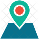 Location Map Navigation Icon