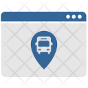 Geo Tag Bus Icon