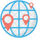 Global Location Navigation Icon
