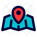 Gps Location Map Icon