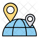 Global Positioning Globe Icon