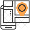 Location Map Phone Icon