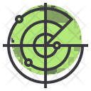 Gps Satellite Tracking Icon