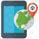 Gps App Global Navigation Phone Tracking Icon
