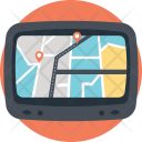 Gps Device Automobile Icon
