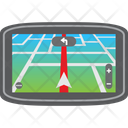 Car Destination Driving Icon