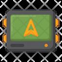 Gps Device Gps Tracker Navigation Device Icon