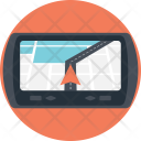 Gps Automobile Navigation Icon