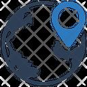Gps Location Globe Gps Icon