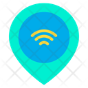 Smart Location Service Smart Gps Automation Icon