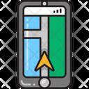 Gps Navigation Mobile Application Mobile Maps Icon