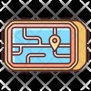 Gps Navigation Geolocation Location Marker Icon