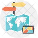 Gps Geolocation Directions Icon