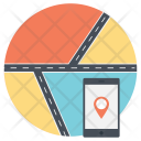 Gps Journey Travel Icon