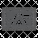 Gps Navigator Electronic Icon