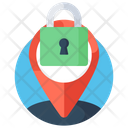 Gps Security Location Security Direction Security Icon